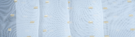 Silk fabric texture, white with gold accents