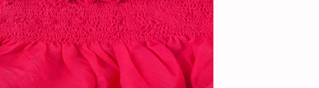 Silk fabric texture, red