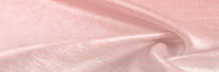 background texture, linen fabric pink with metallic luster. With an incredible texture, this Sunbrella Loft Shift Woven is stylish and durable. Its stiff feel ensures confidence in excellent design Stock Photo