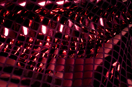 texture background pattern Fabric with large paillettes of red color If you go to the angelic gaze or the aesthetics of the mermaid, these red big sparkles shine for you! paillette covers a solid mesh