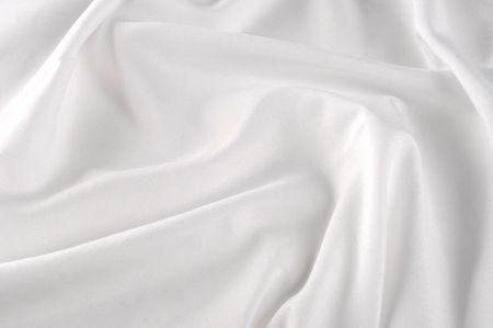 background texture. silk fabric - white. Light in white. this pletnik is ready to marvel at the moonlight! It has a crispy silk backing to finish its stunning design Stock Photo