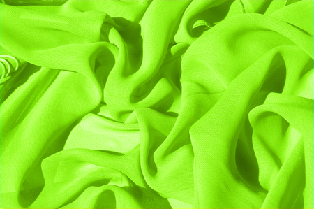 Background texture pattern. Lime Solid Silk Faile. Presenting this high quality silk faille made specifically for Mood This gorgeous, medium-weight fabric contains a rich luminescence is super smooth Stock fotó
