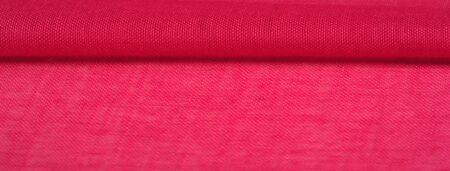Texture silk fabric, red hollywood cerise THE BEST IDEAS FOR your projects: elegant and luxurious. There is no need for any special design. Mothers Day wedding anniversary Thanksgiving and more Reklamní fotografie