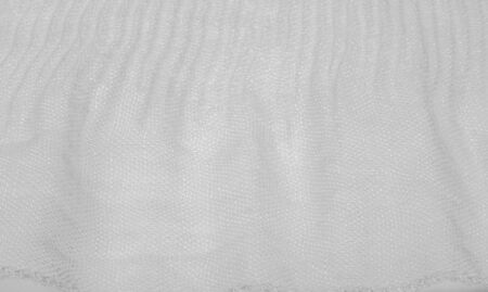 Texture, background, pattern, white silk corrugated crushed fabric for your projects