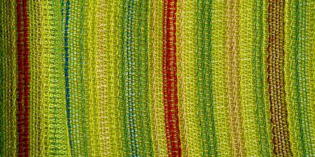 texture, fond, motif, carte postale, tissu vert clair rayé rouge-bleu jaune lignes, Marque : Tricot élastique très léger, léger éclat, Translucide : adapté à vos projets, Banque d'images