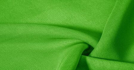 texture, background, pattern, green salad, silk fabric This very lightweight fabric made of artificial silk has a pleasant sheen. Ideal for adding elegance to your internet decor projects. Reklamní fotografie