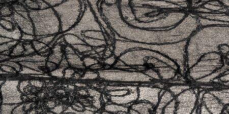 Texture background pattern, silk fabric, black lace pattern, high definition can make your computer and mobile device look cool. You can download these high-quality desktop wallpapers Stok Fotoğraf