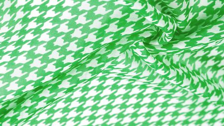 Texture, background, pattern, silk fabric, the brightness of green color on a white background. Pattern on the fabric ala famous French fashion designer. projects will fulfill your desires you are kno 스톡 콘텐츠