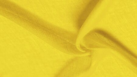 Texture silk fabric, school bus yellow THE BEST IDEAS FOR your projects: elegant and luxurious. There is no need for any special design. Mothers Day wedding anniversary Thanksgiving and more Stock Photo