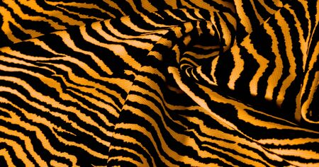 Background, pattern, texture, wallpaper, With the coloring of the animal zebra skin. This extremely soft animal print fabric is perfect for creating your projects, baby accessories, and more! Foto de archivo - 129551450