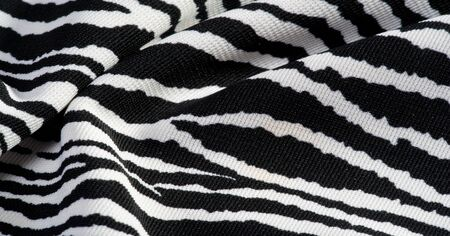 Background, pattern, texture, wallpaper, With the coloring of the animal zebra skin.