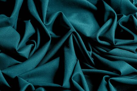 Textured, background, pattern, turquoise fabric.