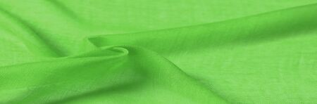 Texture silk fabric, spring green THE BEST IDEAS FOR your projects: elegant and luxurious.