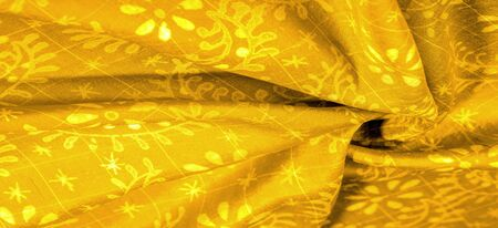texture background, yellow patterned click is very soft, multi-purpose. 写真素材