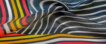 Texture pattern, silk fabric, African themes, printing on fabric, cheerful pattern will decorate the project. 版權商用圖片
