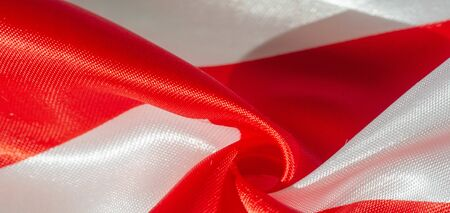 Texture, background, pattern, silk red and white crepe breath.