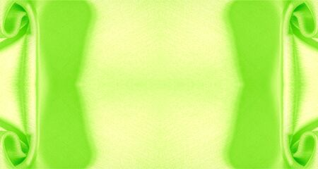 Background, pattern, texture, wallpaper, green silk fabric. It has a smooth matte finish.