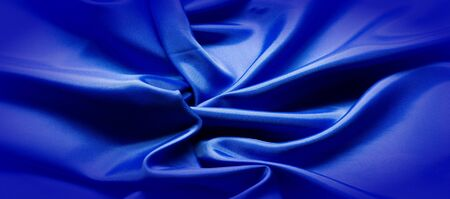 Texture, Silk fabric blue, Made just for the mood we will introduce you to the highest quality.