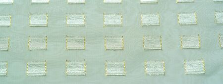 texture, background, pattern, postcard, silk fabric with metal square platinum accents