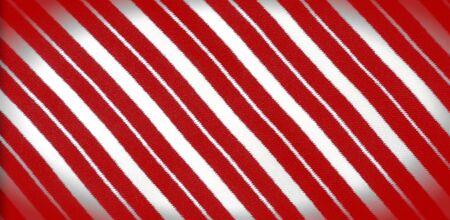 silk striped fabric. Red-white stripes. Stock Photo