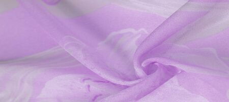 Texture, background, pattern, silk fabric, Purple on Silver background.