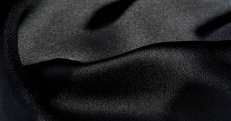 Background, pattern, texture, wallpaper, black silk fabric.  Add a touch of luxury to any design, putting it in this ultra-soft and very lightweight polyester lining fabric. Imagens