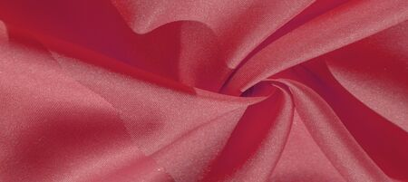 Silk fabric, ruby red. The photo is intended for, interior, imitation, fashion designer, marketing, architecture, sketch, layout, entourage 写真素材