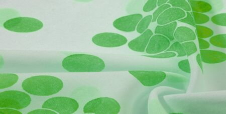 Texture Background, Green Polka Dots Patterned Silk Fabric   Create fun customization and design. Create designs, postcards, posters and linings. Dont forget the photo for your fun projects!