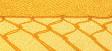 Background texture of silk fabric. This is a natural yellow scarf, this beautiful nylon satin made of rayon with a transparent hand and a wonderful sheen is perfect for your projects.