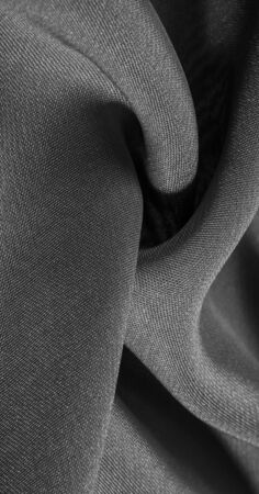 texture, background, pattern, gray black Silk Fabric This very lightweight synthetic silk fabric has a nice sheen. Perfect for adding elegance to your internet decor projects. Stockfoto - 131276268
