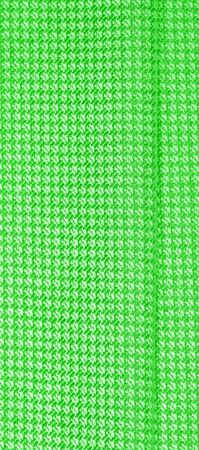 Background texture, pattern Fabric warm wool with a stitched green thread. For those influenced by the classics, grab yourself this vintage-inspired hue blends with olive, green and emerald Stockfoto - 131276385