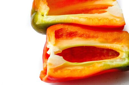 Bell peppers are sometimes grouped with less pungent pepper varieties as sweet peppers.