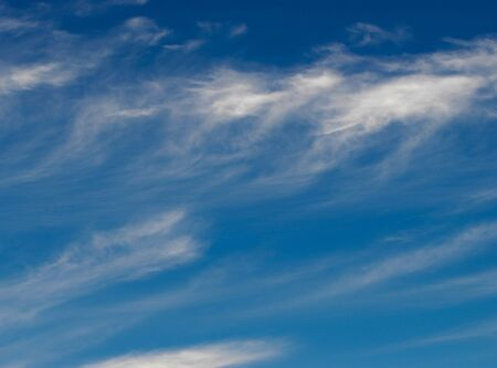 Texture background, pattern, wallpaper. They are still quite high clouds. They do not give rain. Altostratus clouds have an average level of gray or blue-gray. usually cover the whole sky. 写真素材
