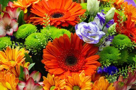 Un ramo de flores es una colección de flores en un arreglo creativo. Los ramos de flores pueden arreglarse para la decoración de hogares o edificios públicos, o pueden ser de mano.
