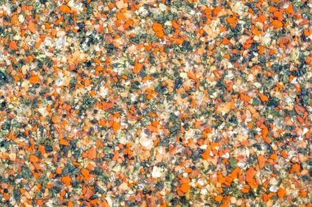 Fondo de textura, patrón. Textura de fondo, patrón. Borde en la calle de la ciudad de piedra. Granito. una línea que separa dos áreas políticas o geográficas