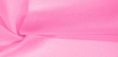 texture, background, pattern, pink silk fabric. This silk is incredibly exquisite. Projects made from this will last a long time and will still be in fairly good condition. Reklamní fotografie