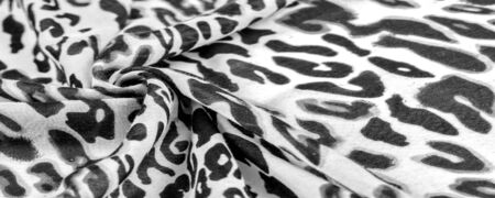 texture, background, pattern, silk fabric, european foot, fashion, leopard print, animal, irreplaceable texture for your projects, black and ≠