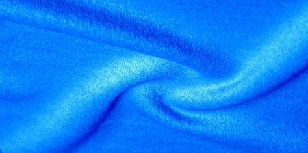 pattern, texture, background, warm wool, blue fabric. Melton fabric is felt, and it is heavily brushed for an ultra soft hand. This can be used for your projects.