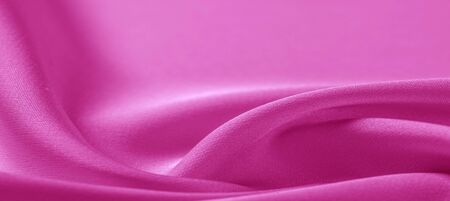 texture. Pink silk fabric. brilliant luster and characteristic small blinds that run horizontally throughout the fabric It falls into soft folds when draped and is the most versatile fabric we carry