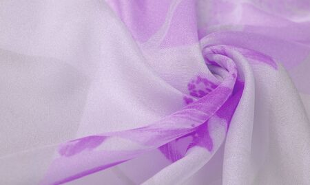 Texture, background, pattern, silk fabric, Purple on Silver background. Your projectors will be pacified, this delicate fabric in pastel colors will cause illusion and fantasy.