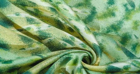 silk fabric steppe meadow print on fabric, soft, velvet, tissue, textile, cloth, web, material 스톡 콘텐츠