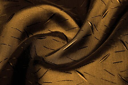 Textured, background, Drawing, yellow brown silk fabric. This silk fabric has design Perfect for accents on design, wallpaper and home decor. Colors include shades of brown.