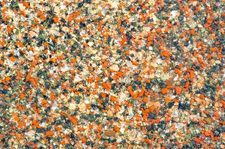 Texture background, pattern. Background texture, pattern. Border on the street of the city made of stone. Granite. a line separating two political or geographical areas Foto de archivo