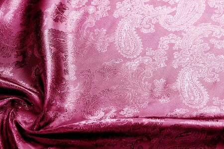texture, background, red, blushing, ruddy, florid, gules, blushful fabric with a paisley pattern. based on traditional Asian elements