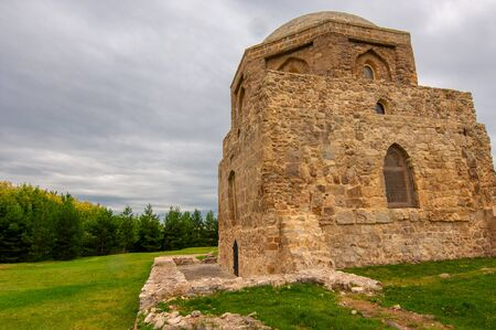 On the territory of Bulgar settlements of the Neolithic, Bronze and Early Iron Age, the Black Chamber is the best-preserved monument from the time of the Bulgar. 2019,08.10 Tatarstan Russia