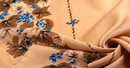 This is a group of silk, characterized by roughness, as well as slightly wrinkled. 版權商用圖片