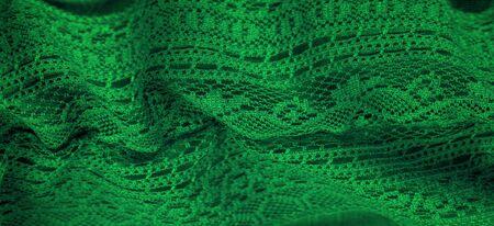 texture, background, design, Green knitted lace triangular scarf, shawl, autumn winter scarf, hood, wedding accessories Project ideas, designer fashion accessories