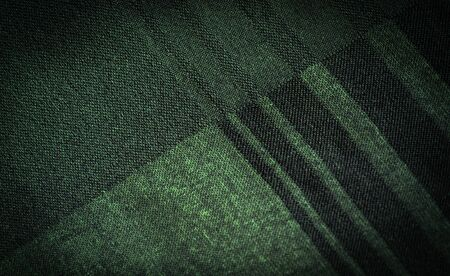 Background texture, decorative ornament, silk green fabric with stripes of trim to make your design neat or the right size or shape by inserting the necessary details.