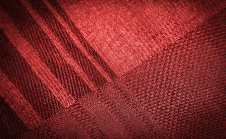 Background texture, decorative ornament, silk red fabric with stripes of trim to make your design neat or the right size or shape by inserting the necessary details.