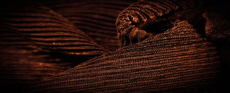Texture, background, pattern, Sepia crepe, is a fabric of silk, wool or synthetic fibers with a distinctly clear, crimped appearance. Crepe is also historically called crêpe or crisp